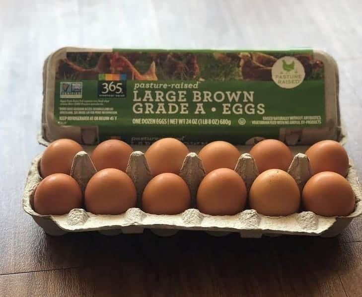 Whole Foods Pasture Raised Eggs