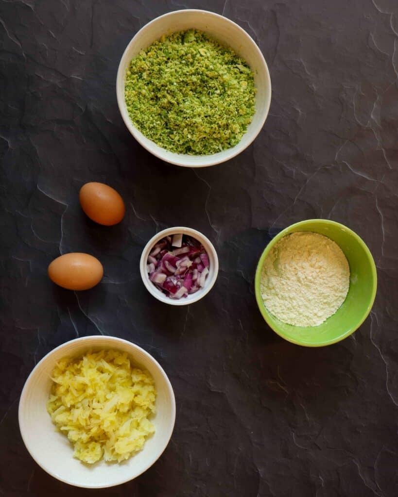 Crispy latkes ingredients