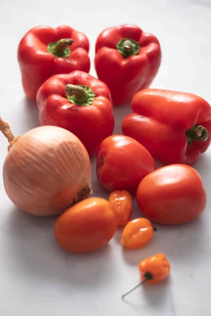African pepper sauce ingredients