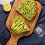 Simple avocado toast.