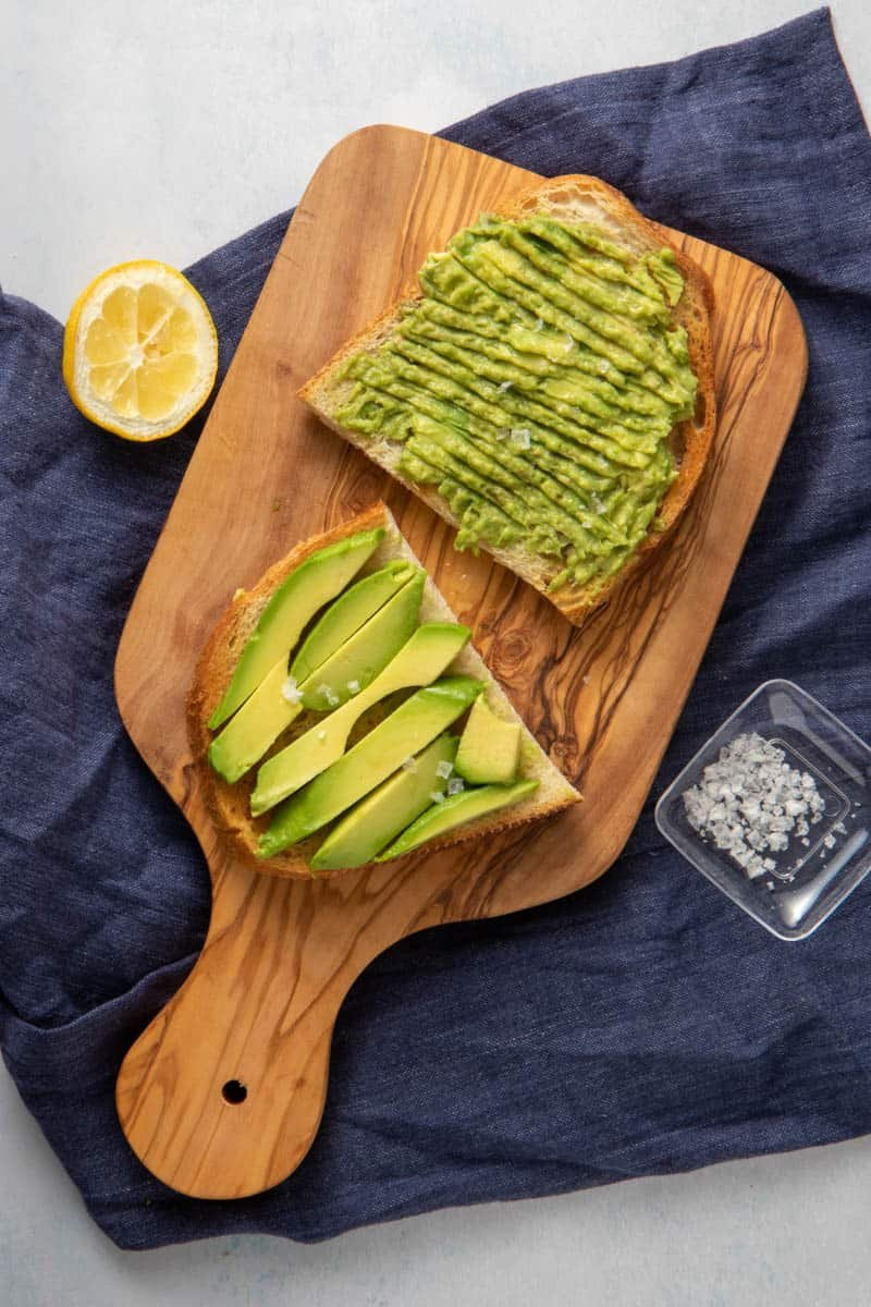 Simple avocado toast.