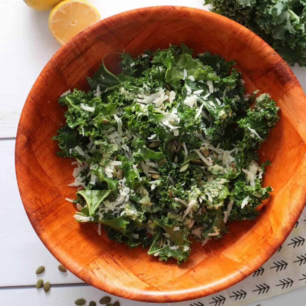 Best Kale Salad - Inspired by Il Corvo