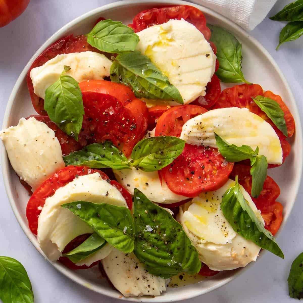 Caprese Salad Traditional Recipe