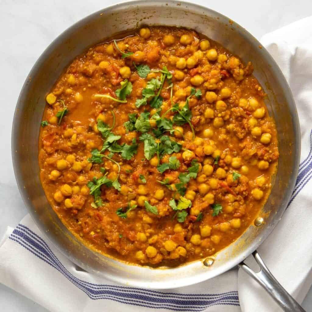 Easy but authentic chana masala recipe