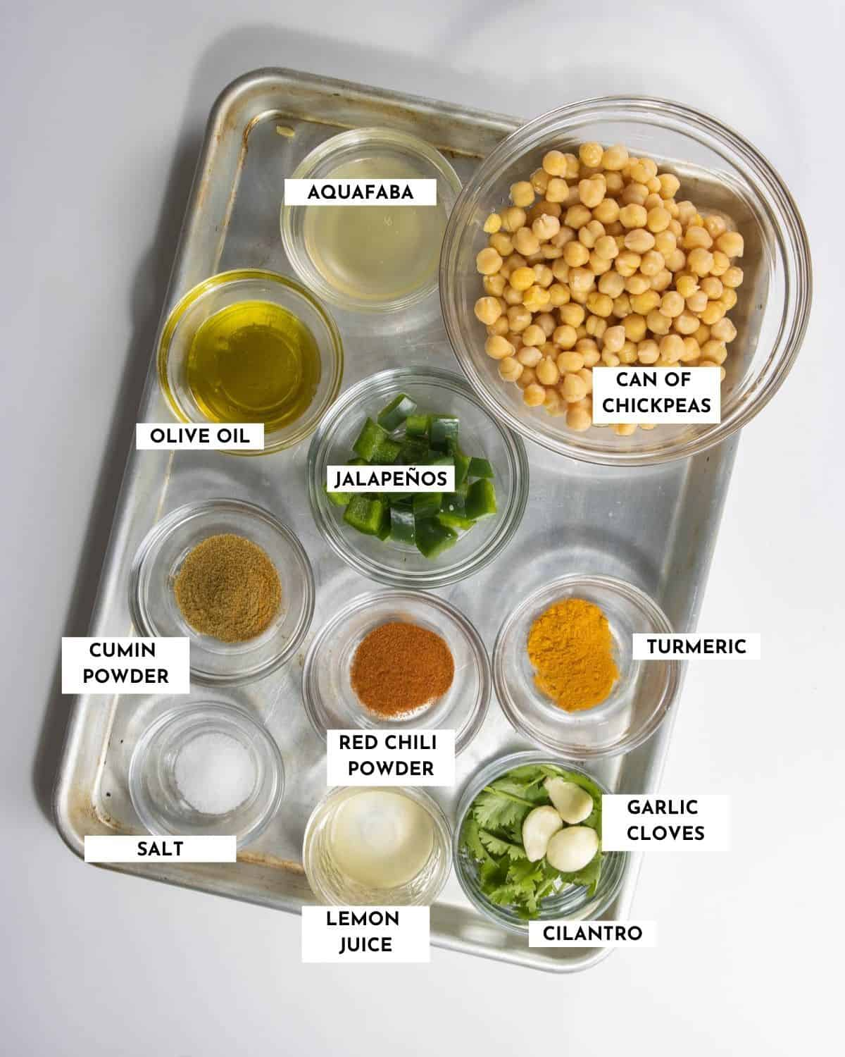 Labeled ingredients image - check recipe card for details and quantities!