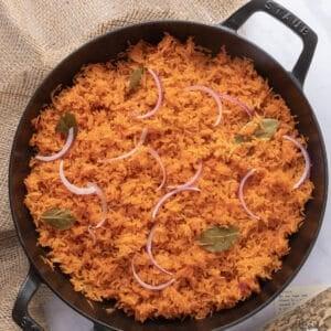 Featured image for Nigerian Jollof (in pot)