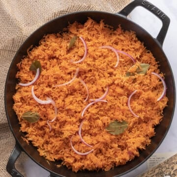 Featured image for Nigerian Jollof (in pot)
