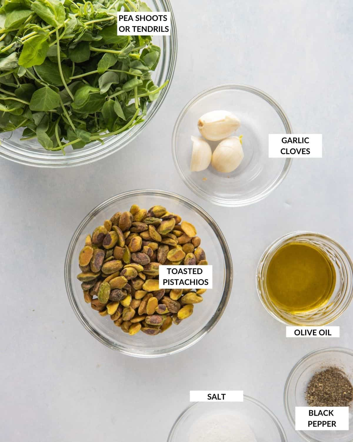 Labeled ingredient list - check recipe card for details!