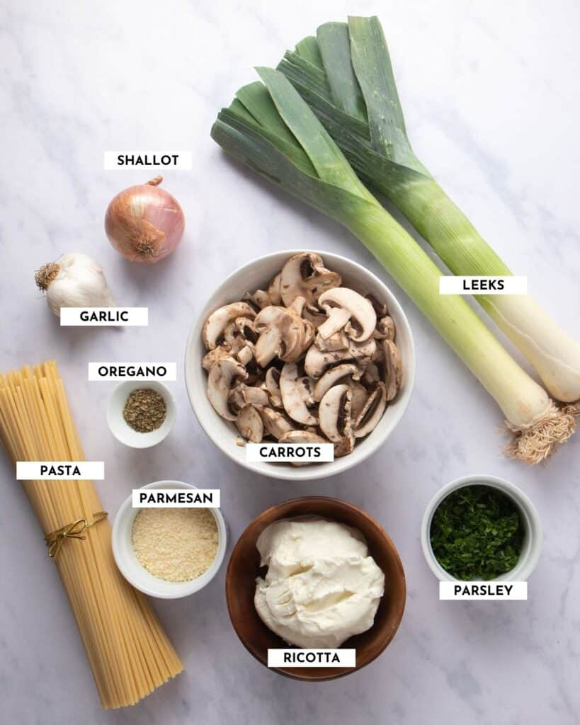 Labeled ingredient list - please refer to recipe card for details and quantities!