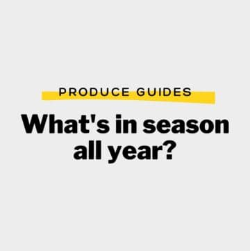 """Title that says """"What's in season all year?"""""""