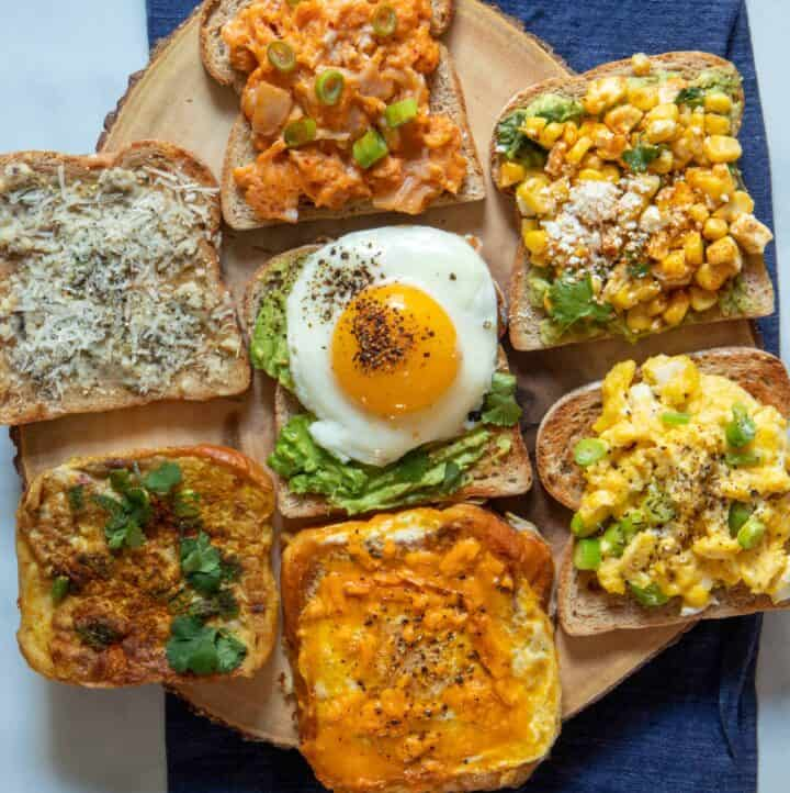 Seven savory toasts from around the world