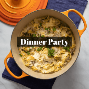 Vegetarian Dinner Party Recipes